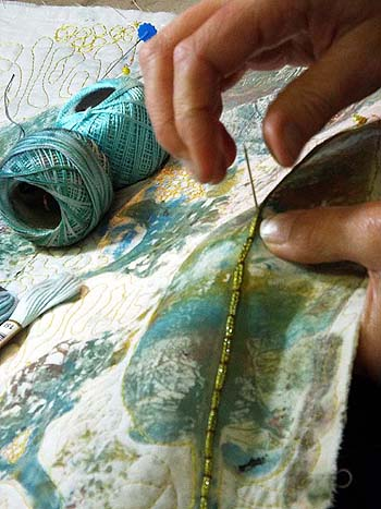 Embroidery for beginners course, Scotland